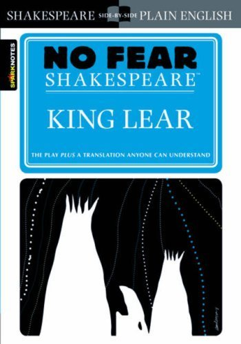 King Lear (No Fear Shakespeare) by SparkNotes (2003) Paperback