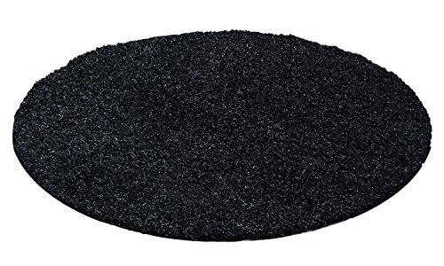 hochflor-shaggy-rund-teppich-carpet-wohnzimmer-vers-farben-grossen-neu-farbeanthrazit-grosse120-cm-r