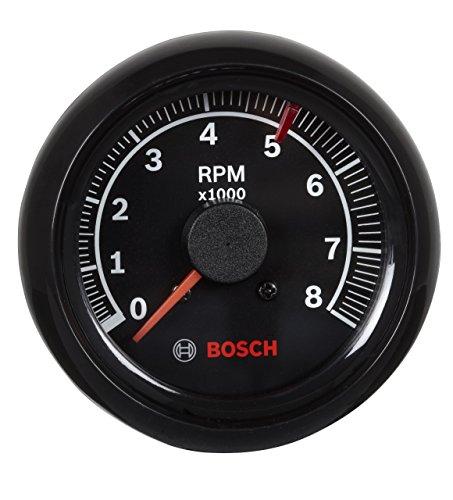 Bosch Sp0 F000025 Sport II 2-5/20,3 cm tachymètre (Cadran Noir, Visage, Cadre Noir)