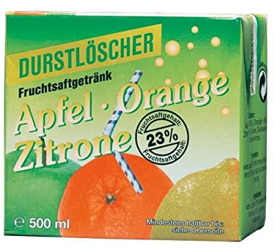 WeserGold Apfel, Orange, Zitrone, 12er Pack (12 x 500 ml)