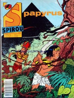 Spirou n° 2548 du 10 Février 1987 : Papyrus