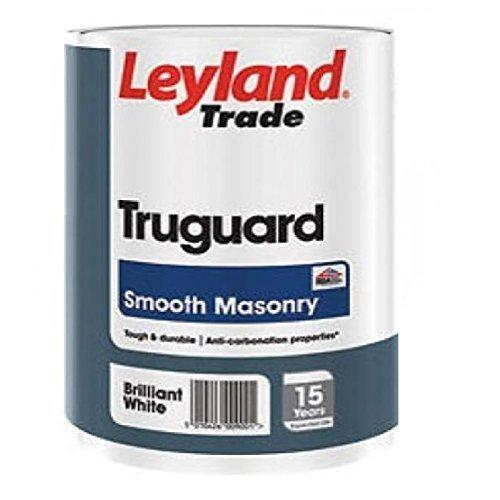new-leyland-trade-25-litre-truguard-smooth-exterior-brilliant-white-masonry-paint-tin