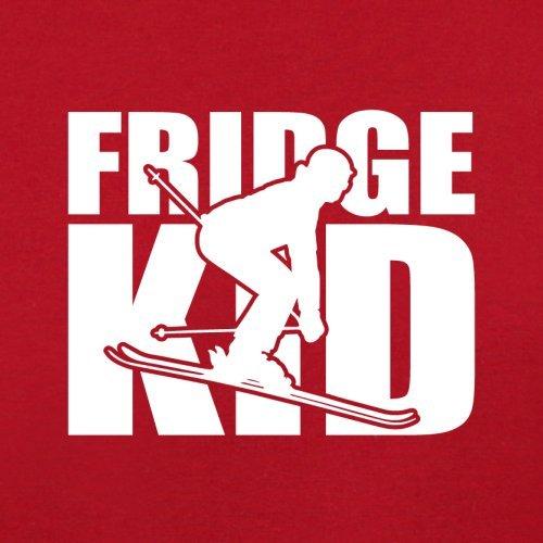 Fridge Kids Ski - Herren T-Shirt - 13 Farben Rot