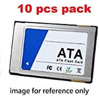 Industrial grade PCMCIA -ATA card, SLC, 1GB, extended wide temperature, 10 pcs