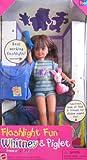 Barbie–Taschenlampe Fun Whitney & Piglet, Freund von Stacie Puppe (1997)