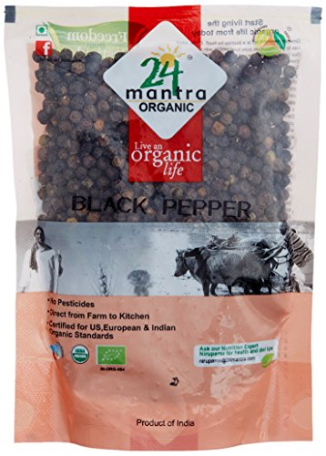 24 Mantra Organic Black Pepper, 100g