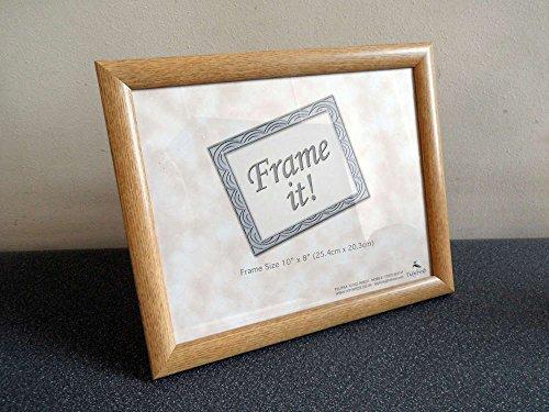 Homestreet Gifts Erinnerungsstück, Aufschrift Our First Christmas as Mr and Mrs, mit schönem Vers und Fotorahmen, Brown Frame, 25 x 20 cm