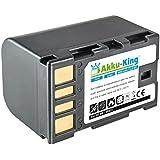 Akku-King Batterie compatible JVC BN-VF815 - BN-VF808 BN-VF808U sans cable BN-VF823 BN-VF915U - Li-Ion 1600mAh