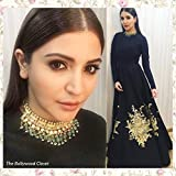 Kumkum Arts Photographic Paper Anushka Sharma Poster Vintage Quality Image, Gloss, Unframed, Qty 707 Size - 12 X 18 Inch, (Multi)