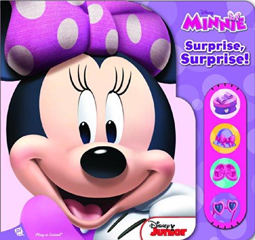 Surprise, surprise ! Disney Minnie : Un livre sonore à volets