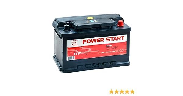 NX Batterie Voiture Power Start 80 600 12V 80Ah: