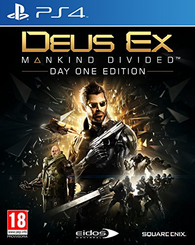 Deus Ex Mankind Divided Day One Edition PlayStation 4