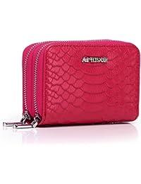 APHISONUK Cartera para Mujer RFID Bolsa de Moda Cuero Billetero con Cremallera Monedero para Tarjeta de crédito Empaquetado con Caja de Regalo