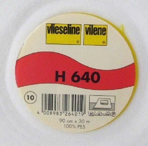 1 m Volumen Vlies weiß H 640 von Freudenberg 90 cm breit