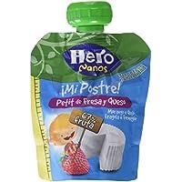 Hero Nanos Bolsita Petit Queso y Fresa - 80 gr - [Pack de 18]
