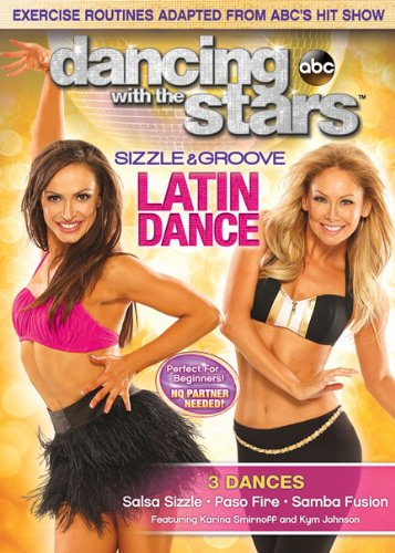 Dancing With Stars: Sizzle & Groove Latin Dance [DVD] [Region 1] [NTSC] [US (Dancing The With Stars)