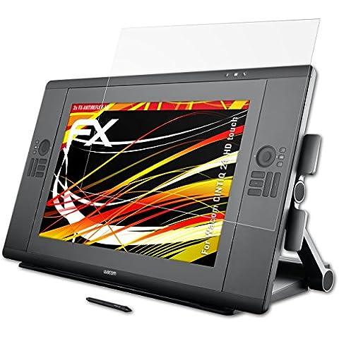2 x atFoliX Protector Película Wacom CINTIQ 24 HD touch Lámina Protectora - FX-Antireflex-HD Antirreflejo para pantallas de alta resolución