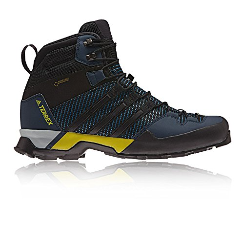 adidas Herren Terrex Scope High GTX Fitnessschuhe, Schwarz, 43.3 EU Blau (Corblu/Cblack/Conavy Corblu/Cblack/Conavy)