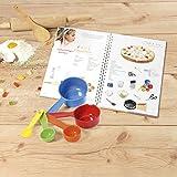 Kinderleichte Becherküche 03634 Backset 6-tlg - für Kinder inkl - Messbecher (Kinderleichte Becherküche / Bekannt aus