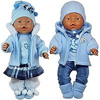 Puppenkleidung 43 cm Babypuppen & Zubehör Kleidung & Accessoires