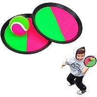 Preisvergleich für Elektay Werfen Sie Fang Bat Ball Spiel Set - Funwill Haken und Riegel Werfen und Fangen Sport Spiel für Hot Outdoor Beach Garden Pool Spielzeug