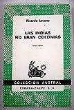 Las indias no eran colonias