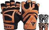 RDX Fitness Handschuhe Trainingshandschuhe Handgelenkschutz Gewichtheben Crossfit krafttraining Sporthandschuhe Bodybuilding