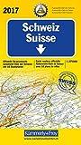 Schweiz ACS 2017: Offizielle Strassenkarte Automobilclub der Schweiz mit 10 Stadtpläne (Kümmerly+Frey Strassenkarten)