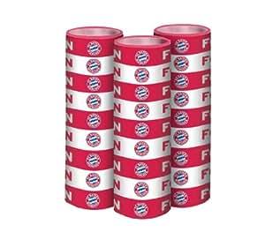 FC Bayern Luftschlangen 3erSet rotweiß Fcbayern 11191