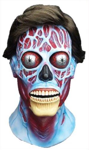 Bubblegum Kostüm (Halloween Kostüme Maske Ghost Gesicht Maske Kostüm Stütze Scary Creepy schmutzig widerlich realistisch Schreckliche Maske Latex Sie leben Latex-Maske für Maskerade Make-up)