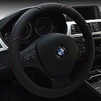 """HCMAX Microfibre Doux Véhicule Couvre Volant Confortable Protecteur de Volant de voiture Universel Diamètre 38cm (15"""") Housse de Volant"""