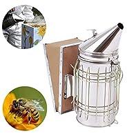 Samger Bee Hive Smoker with Heat Shield Protection Calming Beekeeping Equipment