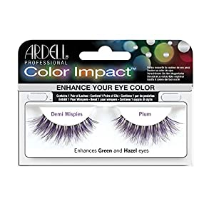 ARDELL Color Impact False Lashes - Plum Demi Wispies