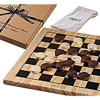 """Drafts Set - Jeu de planche à dessin en bois de 12 """"avec pièces - Jaques of London"""