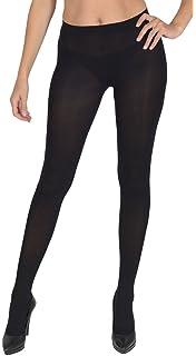 Ladies Silky 200 Denier Thermal Tights Fleece Tights Black S-XL FREE UK P/&P