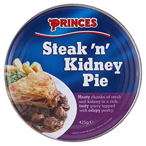 Princes Steak & Kidney Pie (425g) - Paquet de 6