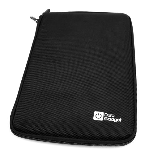 "DURAGADGET Schutzhülle Hardcase Transporttasche aus robustem EVA schwarz für Touchscreen-Tablet Samsung Galaxy Tab (SM-Active T360 8 "") und Alcatel 8- Hero 2 Jahre garantie"