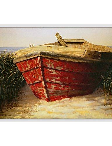 KK&MM dipinti ad olio vista mare moderno, materiali tela con telaio teso pronto da appendere formato: 60 * 90cm, 24