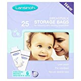Lansinoh Breastmilk Storage Bags X25