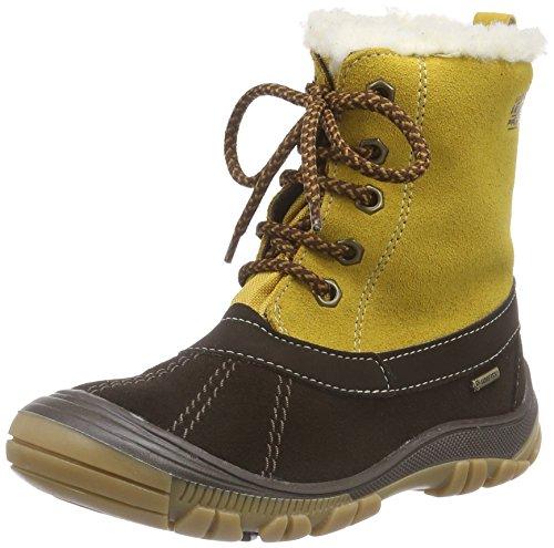 Primigi FLEN-E, Stivaletti da neve a gamba corta, imbottitura pesante Ragazzo, Marrone (Braun (CAFFE-OCRA)), 34