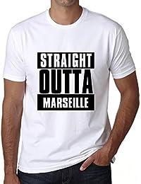 Straight Outta Marseille, t shirt homme, t shirt straight outta, cadeau homme