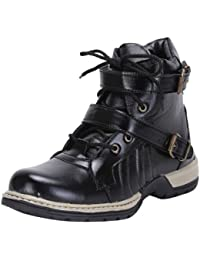 Boots By T-Rock Vision | Casual Lace- Up Party Wear Shoes In Brown All Sizes