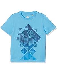 Timberland Short Sleeves T25l53, T-Shirt Garçon