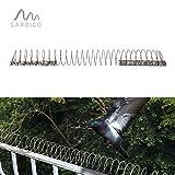 Gardigo Vogelfrei Spirale   Bis zu 5m Vogelschutz auf Balkon, Fenstersims, Dachkasten   Vogelabwehr   Taubenabwehr   Deutscher Hersteller