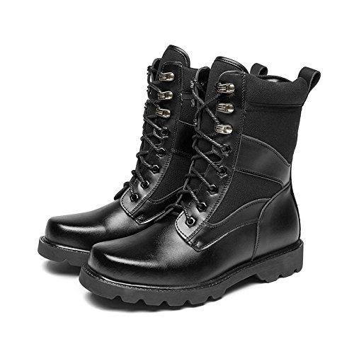 WZG forces spéciales des bottes de combat Les nouveaux hommes bottes hommes bottes de plein air bottes d'hiver Martin high-top bottes du désert mâle Black