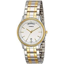 Timex Analog White Dial Men's Watch-TW0TG5909