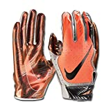 Nike - Vapor Jet 5 American Football Handschuhe - Total Orange - Medium