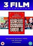 Grand Budapest Hotel/The Sessions/Hitchcock (3 Dvd) [Edizione: Regno Unito] [Import italien]