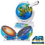 Oregon Scientific SG338R - Smart Globe Explorer AR con Sistema solare e Realtà aumentata