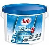HTH acción 5- cloro multifunción especial Liner estabilizada–5kg (Canto 200G)